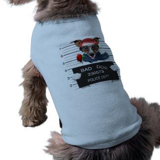 Lustiger Jack Russell, Mugshothund T-Shirt