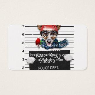 Lustiger Jack Russell, Mugshothund Visitenkarte