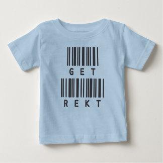 Lustiger Jargon-T - Shirt - erhalten Sie Rekt