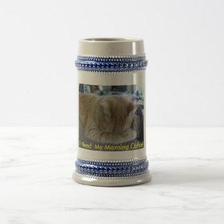 Lustiger Kaffee Stein für das Büro oder Geschenk Bierkrug