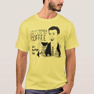 Lustiger Kaffee-Tassen-Witz für reife T-Shirt