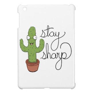Lustiger Kaktus-Aufenthalt-Scharf-Charakter iPad Mini Hülle