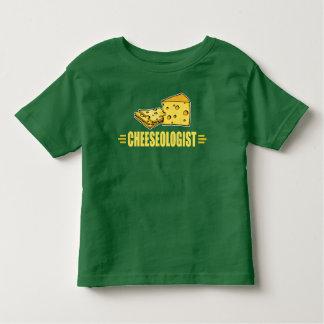 Lustiger Käse CHEESEOLOGIST Kleinkind T-shirt