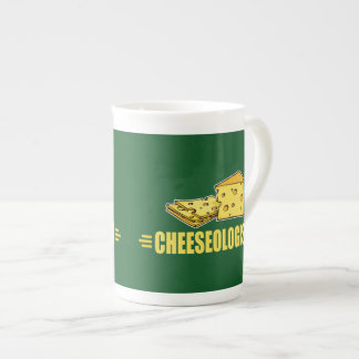 Lustiger Käse CHEESEOLOGIST Porzellantasse