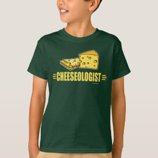 Lustiger Käse CHEESEOLOGIST T-Shirt