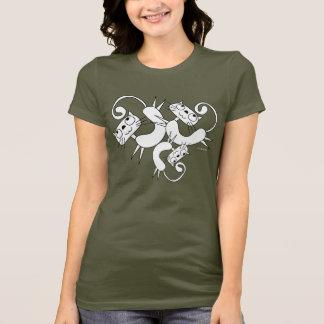 Lustiger Katzen-Tanz-T - Shirt 13