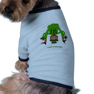 Lustiger Kobold Haustiershirt