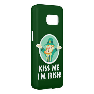 Lustiger Kobold küssen mich, den ich irischer