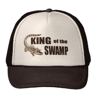 Lustiger König des Sumpfs - Alligatorjäger-Hut Retromützen