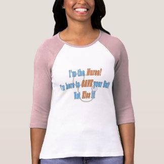 Lustiger Krankenschwester-T - Shirt
