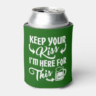 Lustiger Kuss-Sein-Gegangenes   irisches Bier St. Dosenkühler