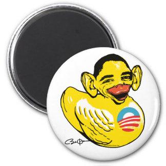 Lustiger lahme Ente Potus Obama Gang Runder Magnet 5,1 Cm