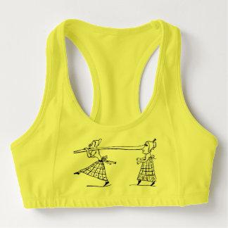 Lustiger langer Nasen-FrauenActivewear Sport-BH