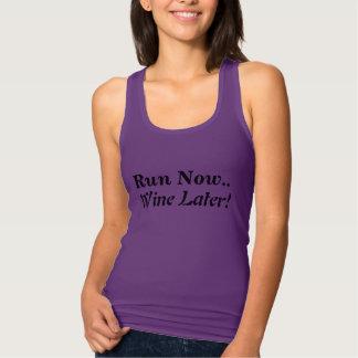 Lustiger laufender T - Shirt