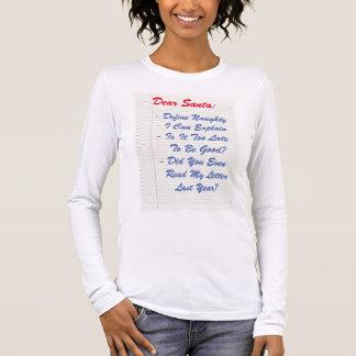Lustiger lieber Sankt-Buchstabe, Langarm T-Shirt
