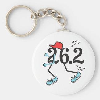 Lustiger Marathon-Läufer 26,2 - Geschenke für Schlüsselanhänger