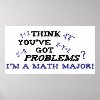lustiger Mathemajor Plakate
