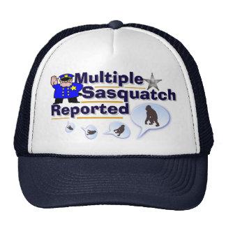Lustiger mehrfacher Sasquatch berichteter Hut Baseballmütze