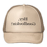 Lustiger Narcissist-Spiegel-Hut für hübschen Freun Truckermützen