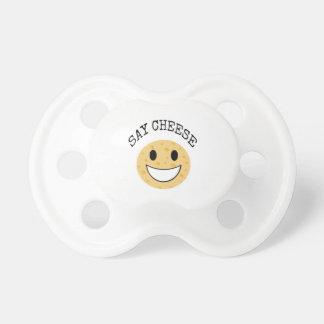 lustiger niedlicher Witz sagen Käse Schnuller