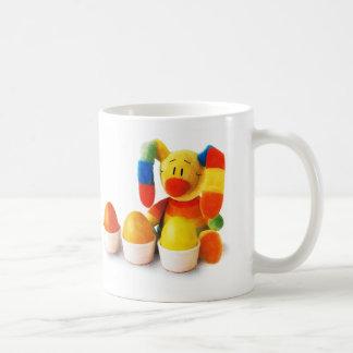 Lustiger Osterhase. Ostern-Geschenk-Tasse für Kaffeetasse