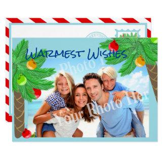 Lustiger Palme-tropischer Feiertags-Gruß 12,7 X 17,8 Cm Einladungskarte