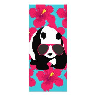 Lustiger Panda-Bärn-Strand-Gammler-coole Individuelle Einladung