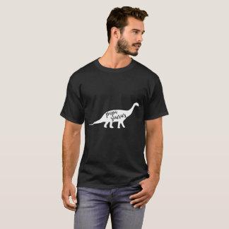 Lustiger Papa Saurus Vati-Dinosaurier T-Shirt