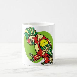 Lustiger Papagei Kaffeetasse