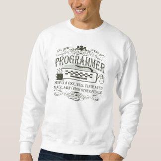 Lustiger Programmierer Sweatshirt