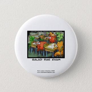 Lustiger Rechtsanwalt-Cartoon-Knopf Runder Button 5,7 Cm