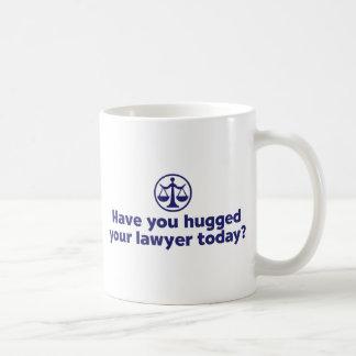 Lustiger Rechtsanwalt Kaffeetasse