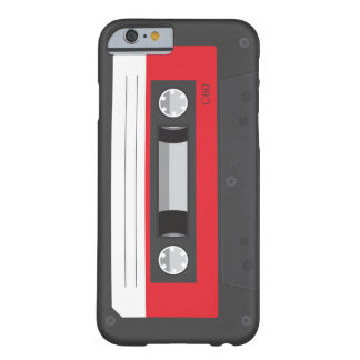 Lustiger Retro Musik-Kassette iPhone 6 Fall Barely There iPhone 6 Hülle