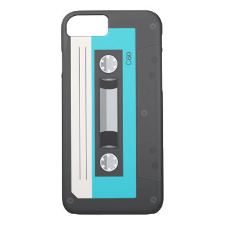 Lustiger Retro Musik-Kassette iPhone 7 Fall iPhone 7 Hülle