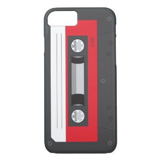 Lustiger Retro Musik-Kassette iPhone 7 Fall iPhone 8/7 Hülle