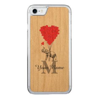 Lustiger romantischer Elefant Carved iPhone 8/7 Hülle