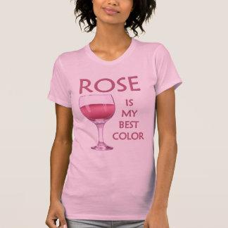 Lustiger Rosen-Wein-Party-T - Shirt