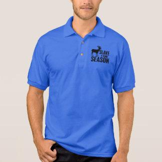 Lustiger Rotwild-Jäger Polo Shirt