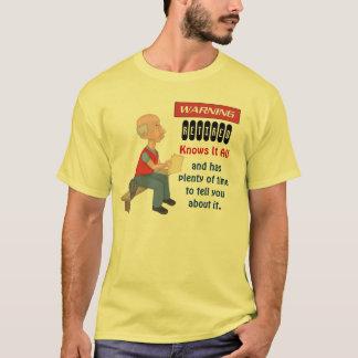 Lustiger Ruhestand kennt es aller T-Shirt