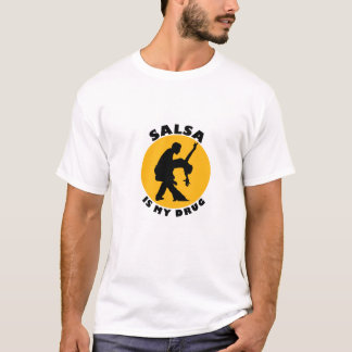 Lustiger Salsa-Tanz-T - Shirt, T-Shirt