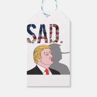 Lustiger sarkastischer Antipräsident Donald Trump Geschenkanhänger