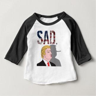 Lustiger sarkastischer trauriger Antipräsident Baby T-shirt