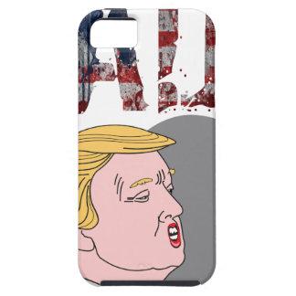 Lustiger sarkastischer trauriger Antipräsident Schutzhülle Fürs iPhone 5