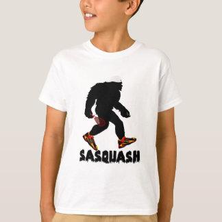 Lustiger Sasquatch Kürbis-Sport-Entwurf T-Shirt
