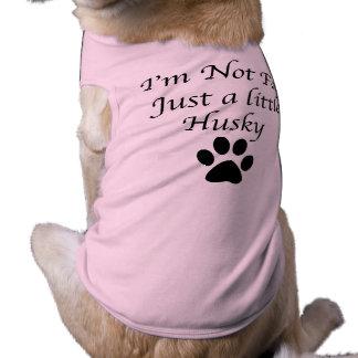 Lustiger Schlittenhund Ärmelfreies Hunde-Shirt