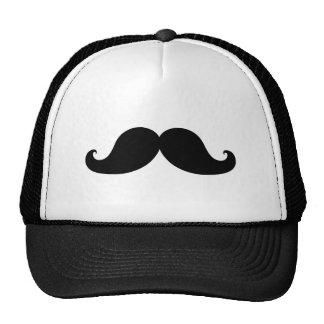 Lustiger schwarzer Schnurrbart-Spaß Cap