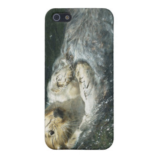 Lustiger Seeotter-Tier-Kunst iPhone 4 Fall iPhone 5 Cover