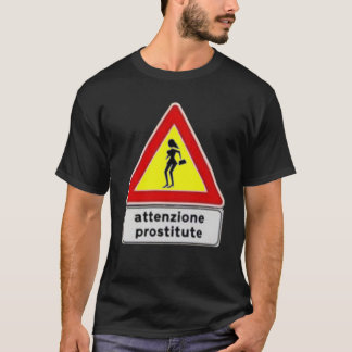 Lustiger Signage T-Shirt