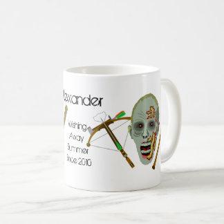 Lustiger Sommer des Zombiecrossbow-Schläger-| Kaffeetasse