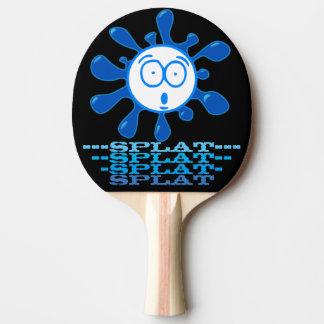 Lustiger Splatted Ball Tischtennis Schläger